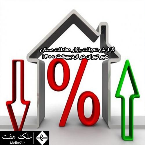 گزارش تحولات بازار معاملات مسکن شهر تهران در اردیبهشت 1400