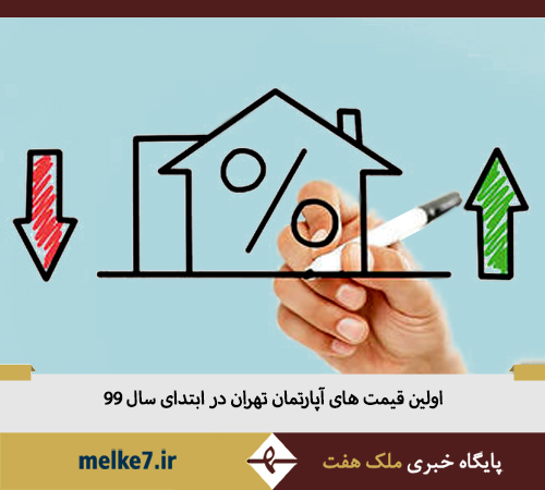 اولین قیمت های 1399 خانه و آپارتمان در تهران