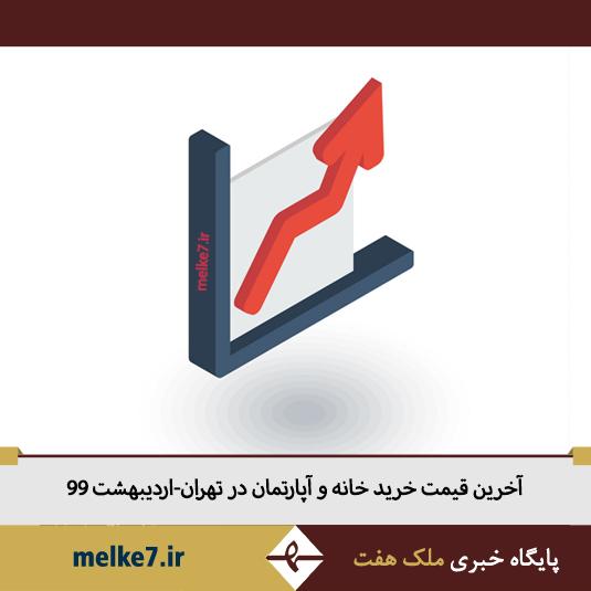 آخرین قیمت خرید و فروش آپارتمان در تهران-اردیبهشت 99