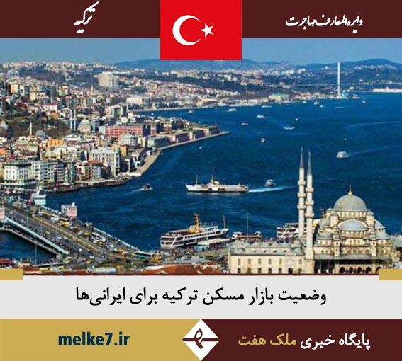 وضعیت بازار مسکن ترکیه برای ایرانی ها