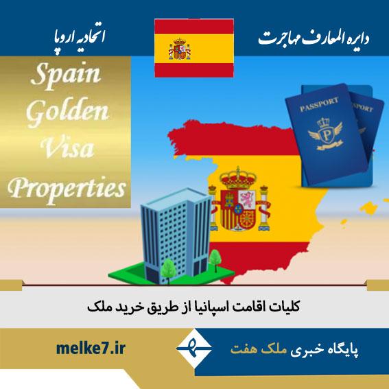 اقامت اسپانیا از طریق خرید ملک