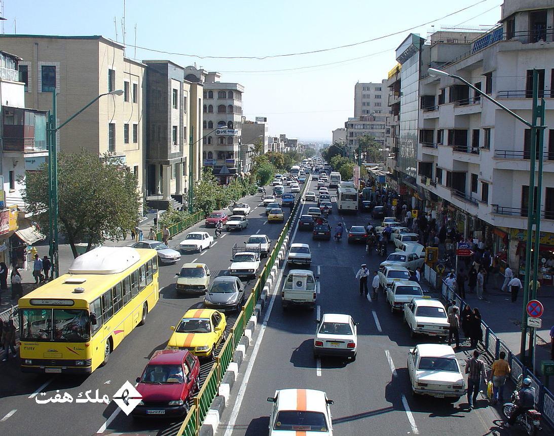 شناخت امکانات محله امیرآباد برای زندگی