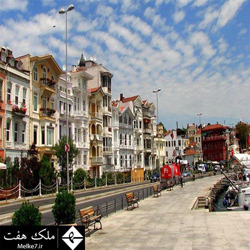 عمده ترین کشورهای خریدار ملک مسکونی در ترکیه